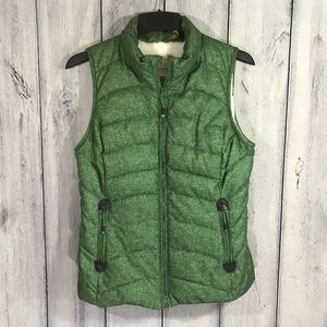 Green Tea Womens Coat Vest Size Small with Pockets